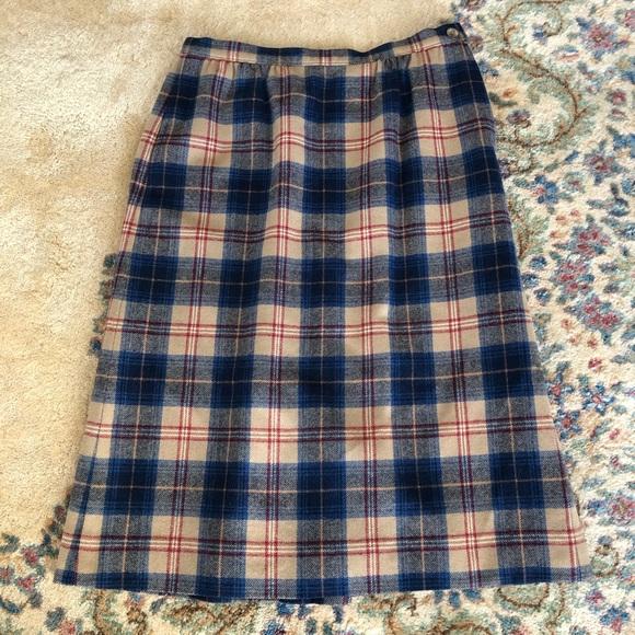 Pendleton Dresses & Skirts - Cailean Tartan Plaid Vintage Pendleton Skirt M